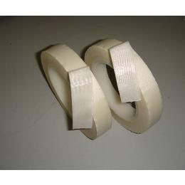 白色玻璃布胶带 硅胶玻璃布胶带 绝缘高温胶带