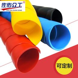 厂家直销 黑色耐磨耐老化螺旋保护套 液压塑料螺旋胶管保护套