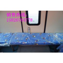 东风超龙蓝牌封闭式厢式货车货厢尺寸图片