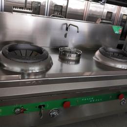 餐饮食堂专用电磁双头单尾小炒炉