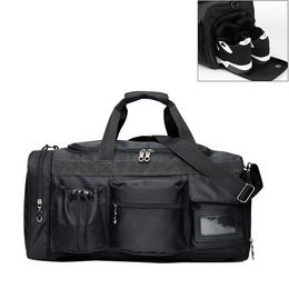 运动包健身包女斜挎手提旅行背包男大鞋位单肩圆筒包篮球训练包袋
