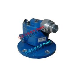 BR-M09测绘用装配体齿轮泵阀体及标准件模型