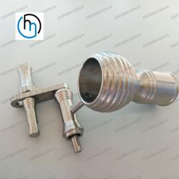 上海异形件加工件定做专业生产高品质非标钛零件加工订制钛烟钉