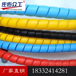 130原包料PP耐磨塑料液压油管保护套 电线胶管护套