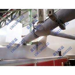 管道可拆卸保温套  蒸汽管道保温套  管道保温衣