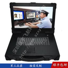上翻新款工业便携机机箱加固型便携式电脑外壳笔记本铝视频采集