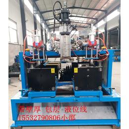 液位线机油壶生产设备 带包层防冻液壶润滑油壶塑料吹塑机