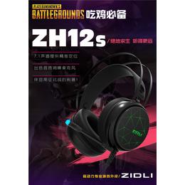 磁动力ZH12s网咖吃鸡耳机专用游戏USB7.1声道耳机