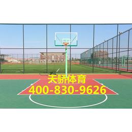 丙烯酸篮球场 篮球场施工篮球场设计建造 篮球场工程