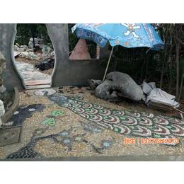 景德镇申达陶瓷厂(图)|陶瓷碎片拼花拼图|陶瓷碎片