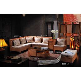 供应厂家直销1022 藤编家具藤沙发组合藤椅五件套客厅