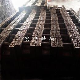 海南三亚20千克计量局校验砝码_铸铁配重块
