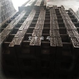 青海海西20kg锁型标准砝码_M1级铸铁砝码