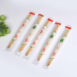 一次性竹筷方便筷快餐筷圆竹筷卫生筷天然竹筷