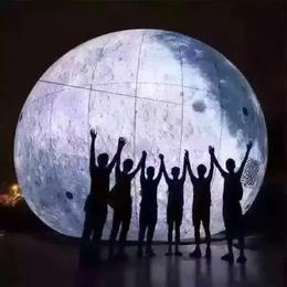 中秋月亮模型租赁月球模型出租PVC材料