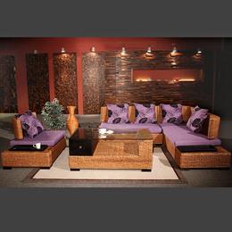 供应厂家直销8008 客厅藤艺沙发厂家直销东南亚家具