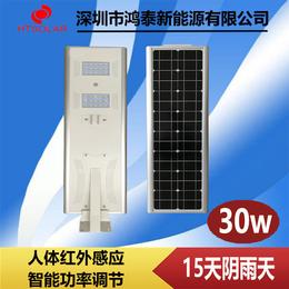 江西<em>LED</em>太阳能一体化锂电池<em>路灯</em>庭院灯新农村<em>景观灯</em>