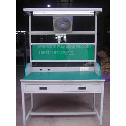 湖南湘潭友工工作台流水线+铝型架工作台+双面工作台