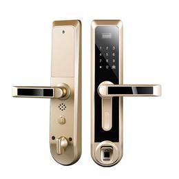 深圳诺克威智能锁厂家供应A80直板式智能指纹锁