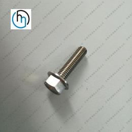 厂家直销 定做法兰面钛螺丝 非标法兰螺丝 外六角法兰面螺丝