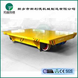 箱梁结构过跨车CAD图烤漆房用无动力平板车免检设备