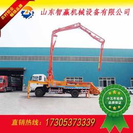 莱芜泵车生产厂家   混凝土泵车型号