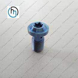 钛螺丝加工摩托螺丝定做梅花头钛螺丝非标钛螺丝厂家直销