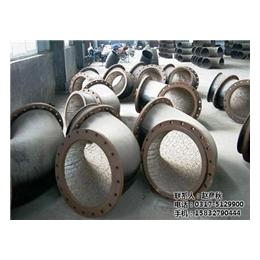 电厂焊接互压耐磨陶瓷弯头_镇天管道_焊接互压耐磨陶瓷