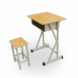 学生课桌椅单人学校培训课桌升降课桌椅 缩略图