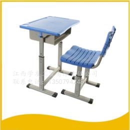 學生課桌椅單人升降單柱課桌縮略圖