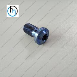 摩托车钛螺丝油刹钛螺丝定制非标钛螺丝摩托车竞速专用螺丝