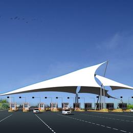 膜结构加油站收费站棚 高速公路膜结构工程镇江膜结构 厂家热销