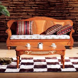 供应厂家直销1004 沙发藤椅三人沙发藤家具