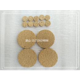 金属粉末冶金烧结滤芯 烧结网 铜粉末烧结滤片 铜过滤片