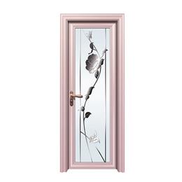 玫瑰金铝合金家用门  缩略图
