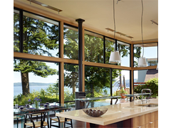 餐厅断桥铝门窗