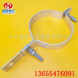 厂家供应高标镀锌抱箍  光缆抱箍  卡箍 电线杆抱箍