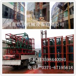 漳州批发销售自升式龙门架单笼施工升降机方便好用