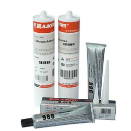 高透明高韧性硅胶胶水 巨箭品牌988硅胶专用胶水