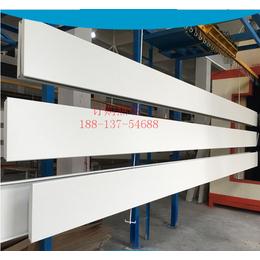 榆林加油站罩棚1个厚铝扣板 吊顶S型防风铝扣板
