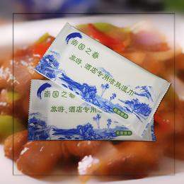 九江濕巾 貝弘餐飲濕餐飲巾定制批發 是餐飲的宣傳使用產品