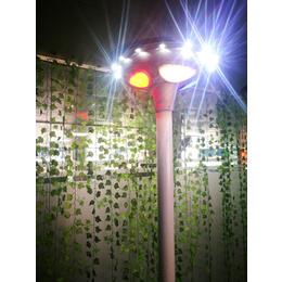 深圳太阳能庭院灯UFO15W一体化太阳能发电智能调光led灯