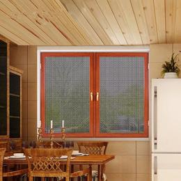 金钢网门窗成品定做  平开窗缩略图