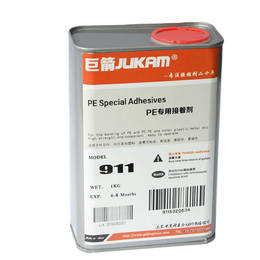 聚乙烯PE塑料粘接专用胶水 景舜胶业出品G-911