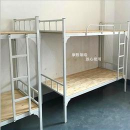 广州上下铺双层床 广州上下铺铁床广州上下铺铁架床康胜厂家直销