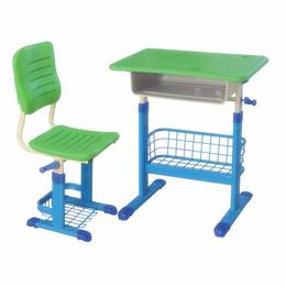 手摇式塑料课桌椅缩略图