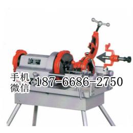 孝感电动套丝切管机 性能优良 管子外螺纹套制机 2寸套丝机
