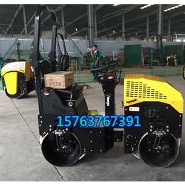 一吨静碾压路机全液压式压实机草坪静碾压地机参数价格图片