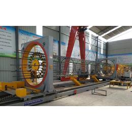 供应亚博平台网站数控钢筋笼滚焊机 钢筋笼成型机