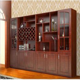 歐式實木酒柜 客廳餐廳柜